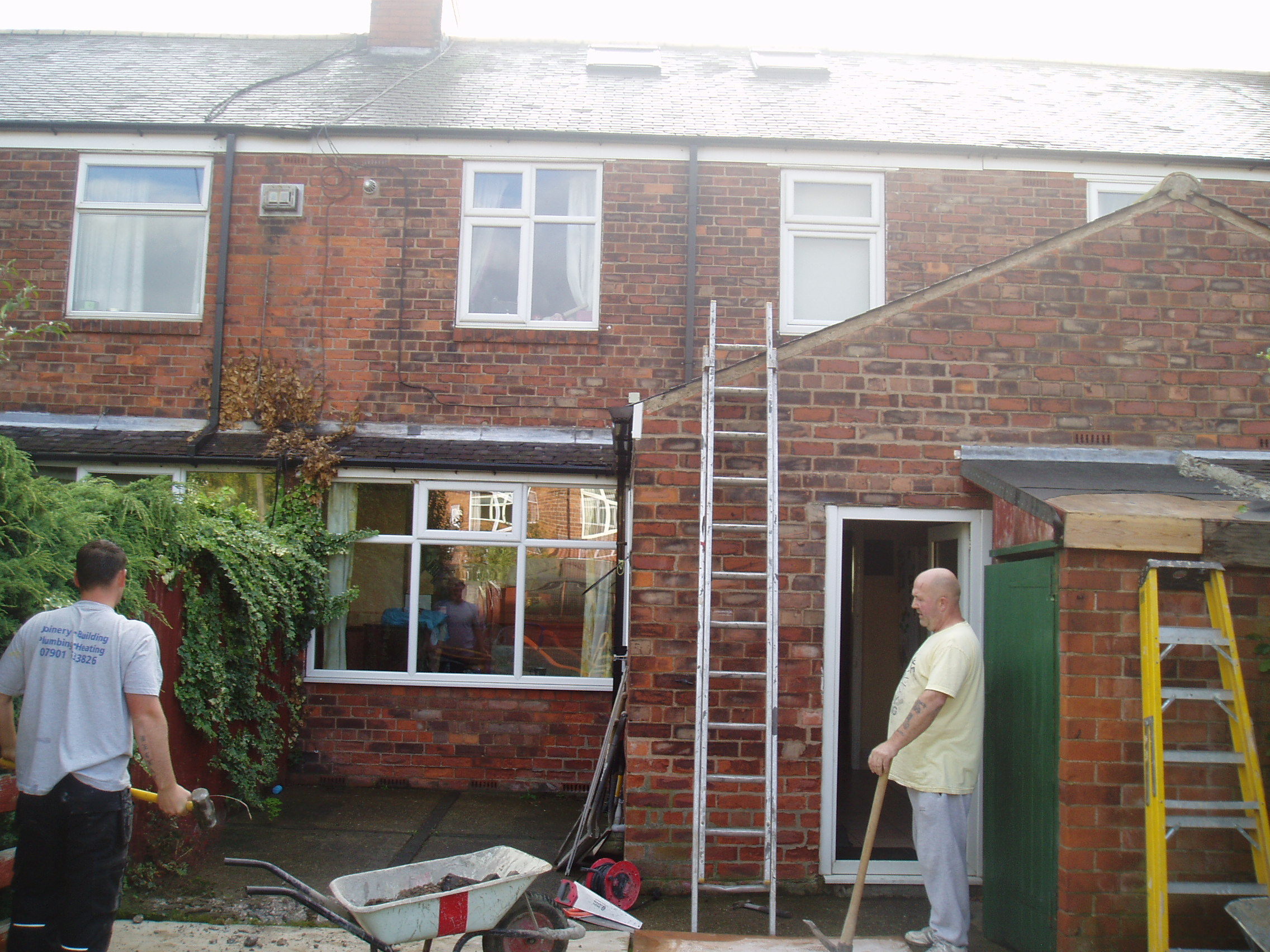 Kenilworth Rd Kitchen Extension With Toilet Utility Room