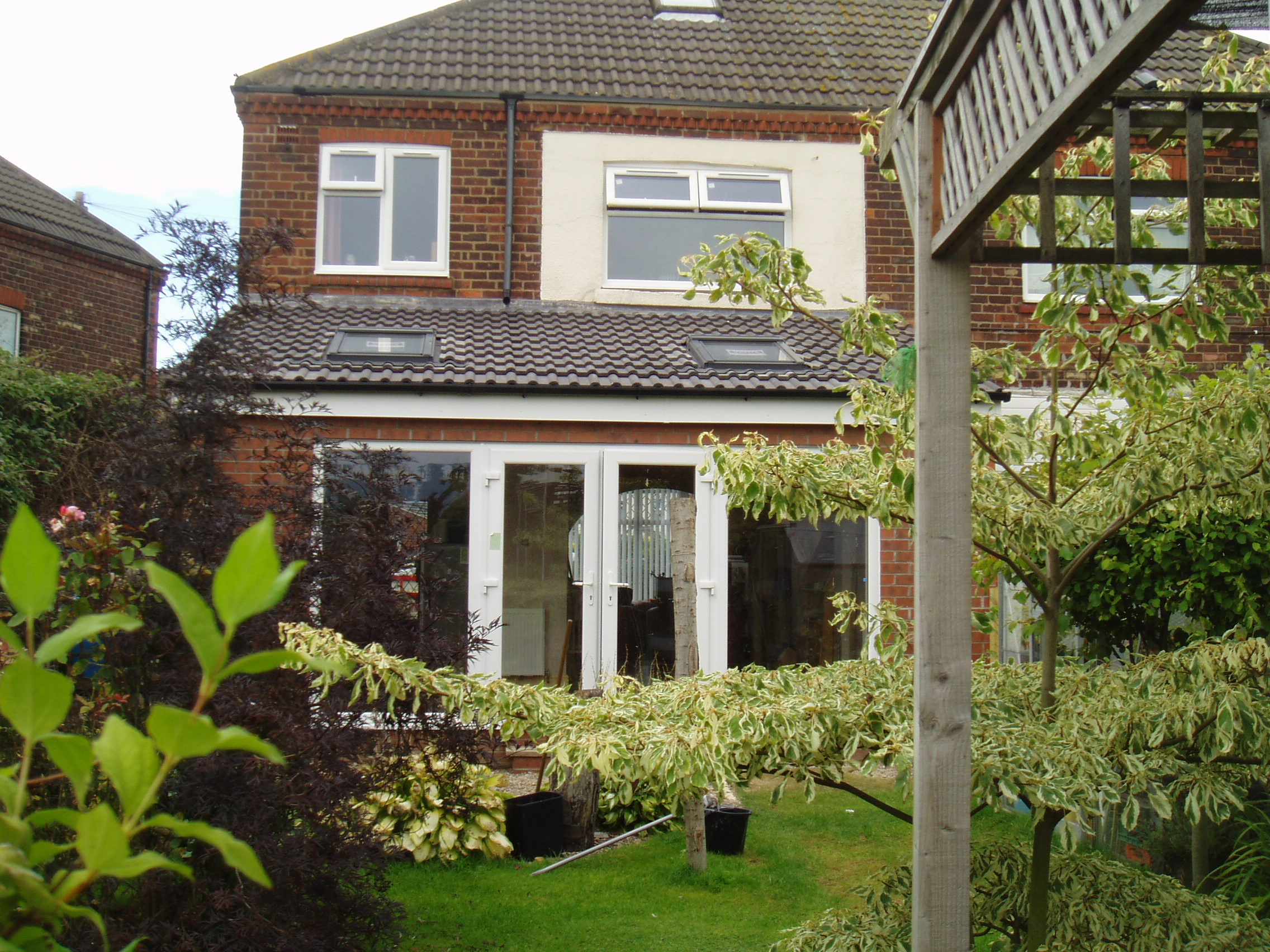 Single Home Extension  Riversdale Hull. Home extension builder   Total Improvements Limited Builders Hull