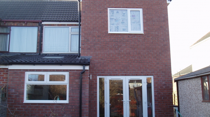 Silverdale Rd, Beverley High Rd Hull, Single And Double Home Extension.