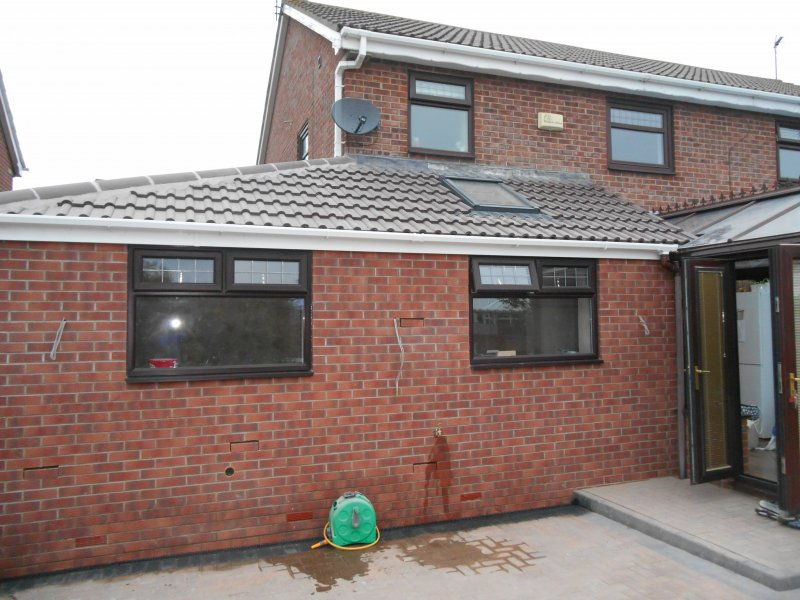 Hull Kitchen Extension. Home extension builder   Total Improvements Limited Builders Hull